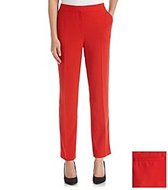 Chaus Crepe Ankle Pant