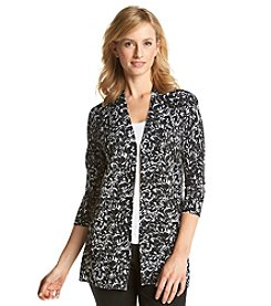 Laura Ashley® Brushed Rose Print Cardigan