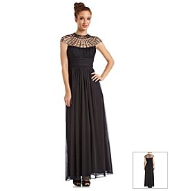 Xscape Illusion Top Gown