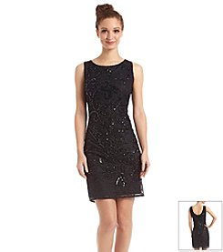 Pisarro Nights Short Beaded Dress