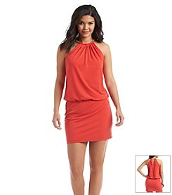 Jessica Simpson Halter Bungee Dress