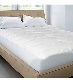 Blue Ridge Home Fashions 200-Thread Count Classic Cotton Top Mattress Pad