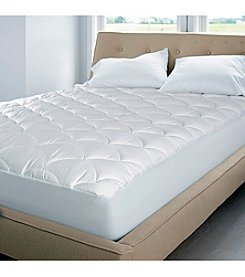 Blue Ridge Home Fashions 350-Thread Count Damask Dual Action Mattress Pad