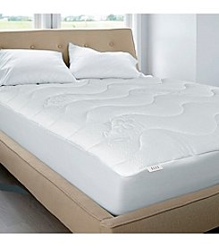Elle Brand Super Soft Circular Knit Designer Mattress Pad