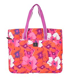 French West Indies Pop Flower Garment Tote
