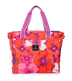 French West Indies Pop Flower Small Tote