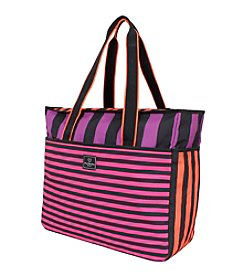 French West Indies Bahia Purple Drift Large Weekender Tote