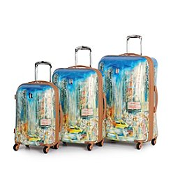 IT Luggage New York City Painting Samara Luggage Collection