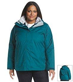 Columbia Interchange Systems® Plus Size Sleet To Street™ Jacket