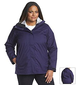 Columbia Interchange Systems® Plus Size Sleet To Street™ Jacket