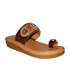 "DOLCE by Mojo Moxy® ""Tribal"" Slide Sandals"