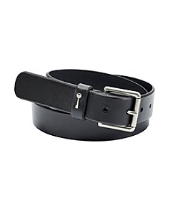 Fossil® Black Key Keeper Belt