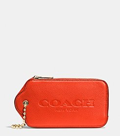 COACH HANGTAG MULITIFUNCTION CASE IN LEATHER