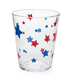 LivingQuarters Americana Double Old Fashion Glass