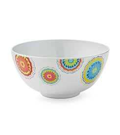 LivingQuarters Confetti Cereal Bowl