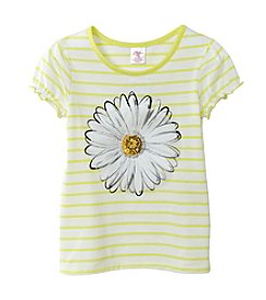 Little Miss Attitude Girls' 2T-6X Ruffle Puff Sleeve Tee
