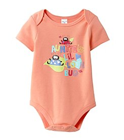 Cuddle Bear® Baby Girls' Coral Bodysuit