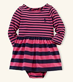 Ralph Lauren Childrenswear Baby Girls' Striped Knit Dress
