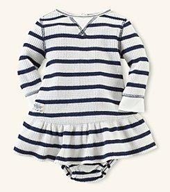 Ralph Lauren Childrenswear Baby Girls' Striped Dress