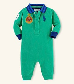 Ralph Lauren Childrenswear Baby Boys' Coming And Going Coverall
