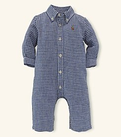 Ralph Lauren Childrenswear Baby Boys' Linen Coverall