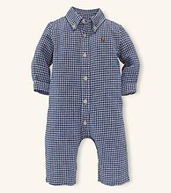 Ralph Lauren Childrenswear Baby Boys' Linen Coverall