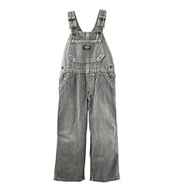OshKosh B'Gosh® Baby Boys' Hickory Striped Denim Overalls