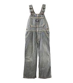 OshKosh B'Gosh® Baby Boys' Hickory Striped Denim Overalls