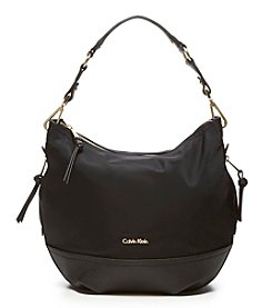 Calvin Klein Nylon Hobo Bag