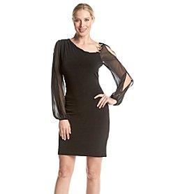 Ivanka Trump® Asymmetrical Chiffon Dress