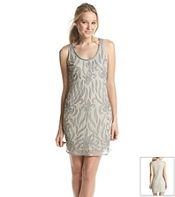 Adrianna Papell® Fully Beaded Cocktail Dress