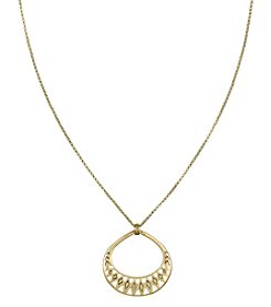 The Sak® Goldtone Openwork Pendant Necklace