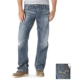 Silver Jeans Co. Men's Gordie Dark Straight Jean