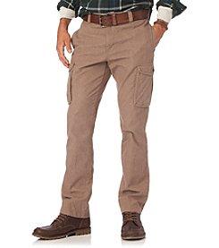 Chaps® Men's Herringbone Cargo Pant