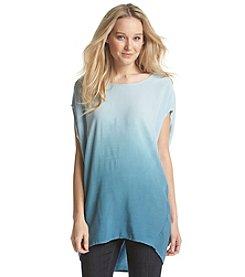 ruff hewn GREY Dip Dye Circle Shirt