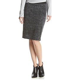 ruff hewn GREY Burnout Short Zip Skirt
