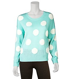 A. Byer Polka Dot Sweater