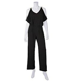 A. Byer Sleeveless Jumpsuit