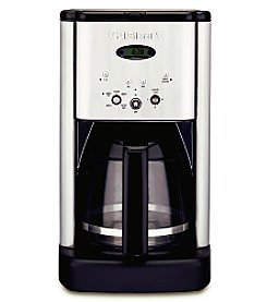 Cuisinart® Brew Central 12-Cup Programmable Coffeemaker + FREE Coffee Grinder by Mail see offer details