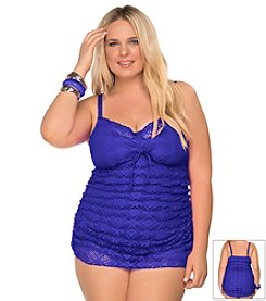 Becca® Plus Size Ritual 1 Piece Swimdress