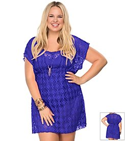 Becca® Plus Size Ritual Crocheted Tunic
