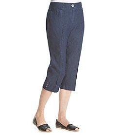 Studio Works® Denim No-Gap Cropped Jeans
