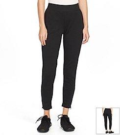 Lauren Active® Zip-Hem Cotton Sweatpants