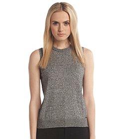 Calvin Klein Sleeveless Marled Sweater