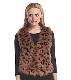 MICHAEL Michael Kors® Cropped Faux Fur Vest