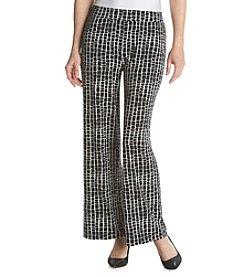 Chaus Modern Print Pants