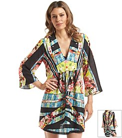 Ivanka Trump® Floral Tunic Cover Up