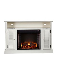 Southern Enterprises Mallari Media Electric Fireplace