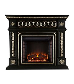 Southern Enterprises Snider Electric Fireplace - Black