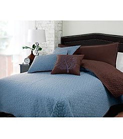 Riverbrook Home Fall Leaf 5-pc. Coverlet Set